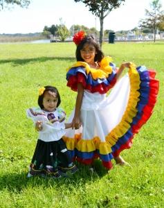 campesina santander boyaca colombia cumbia muyska