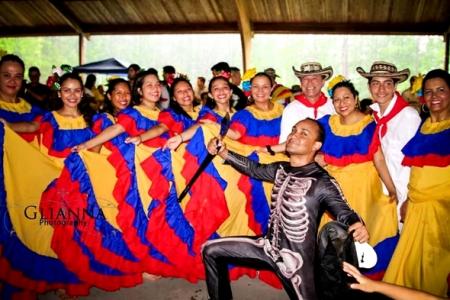 Cumbia Amarillo Colombia Muyska Garabato
