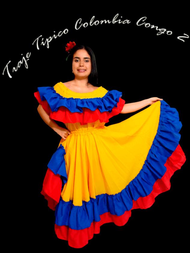 Traje-Típico-Colombia-Congo-Mujer-2
