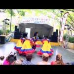 Grupo Momposina Trajes Colombia Amarillos